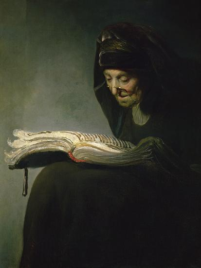 Portrait of Rembrandt's Mother-Rembrandt van Rijn-Giclee Print