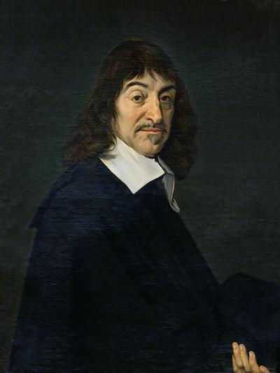 Portrait of Rene Descartes (1596-1650) c.1649-Frans Hals-Giclee Print