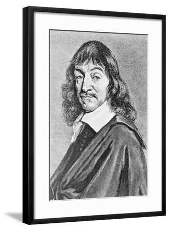 Portrait of Rene Descartes--Framed Giclee Print