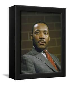 Portrait of Rev. Martin Luther King, Jr