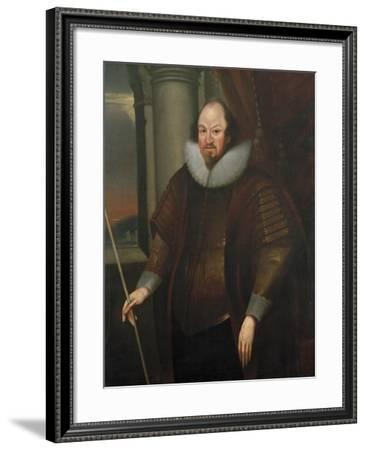 Portrait of Richard Boyle, 1st Earl of Cork, C.1640--Framed Giclee Print