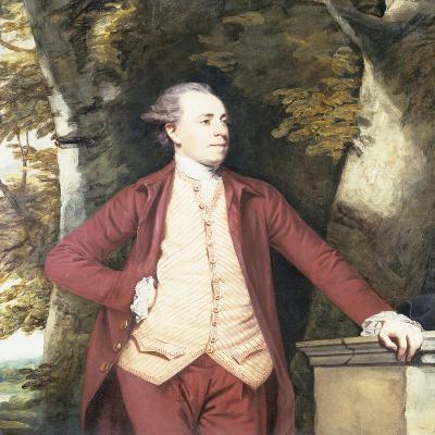 Portrait of Richard Crofts of West Harling, Norfolk-Sir Joshua Reynolds-Giclee Print