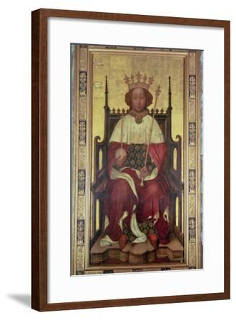 Portrait of Richard II (1367-1400)--Framed Giclee Print