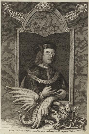 Portrait of Richard III of England--Giclee Print
