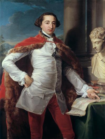 Portrait of Richard Milles-Pompeo Batoni-Giclee Print