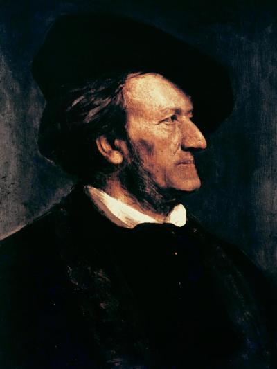 Portrait of Richard Wagner-Franz Seraph von Lenbach-Giclee Print