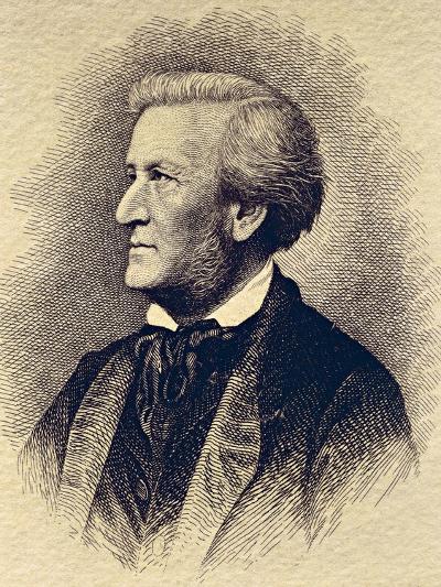 Portrait of Richard Wagner--Giclee Print