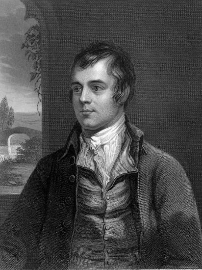 Portrait of Robert Burns, Scottish Poet--Photographic Print