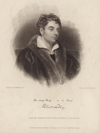 Portrait of Robert Southey-Thomas Phillips-Giclee Print