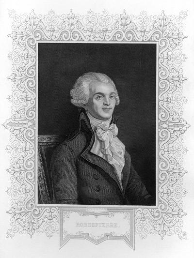 Portrait of Robespierre--Giclee Print