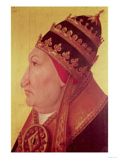 Portrait of Rodrigo Borgia (1431-1503) Pope Alexander VI--Giclee Print