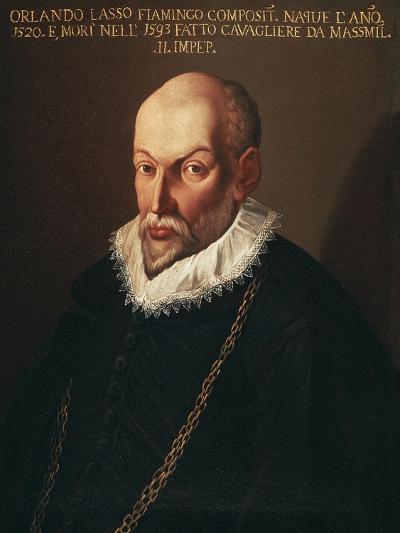 Portrait of Roland De Lassus Called Orlando Di Lasso--Giclee Print