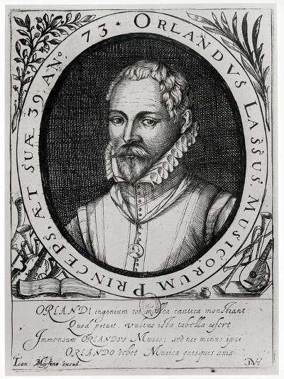 Portrait of Roland de Lassus--Giclee Print