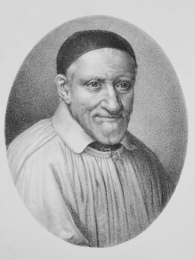 Portrait of Saint Vincent De Paul--Giclee Print