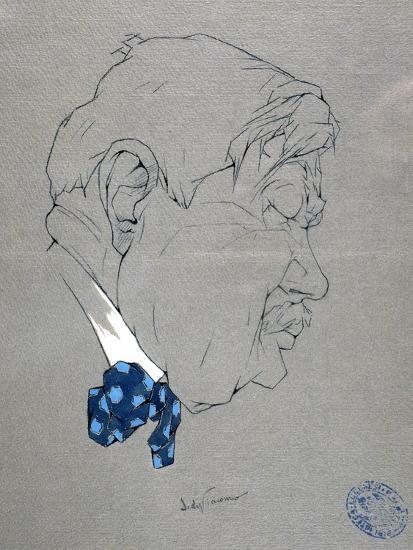 Portrait of Salvatore Di Giacomo--Giclee Print