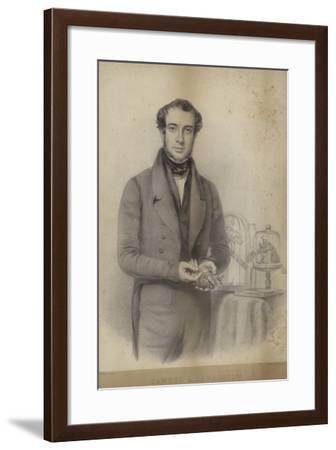 Portrait of Samuel Armstrong Lane--Framed Giclee Print