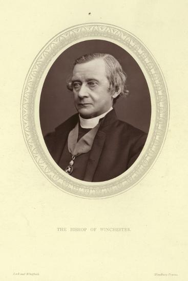 Portrait of Samuel Wilberforce, Bishop of Winchester--Photographic Print