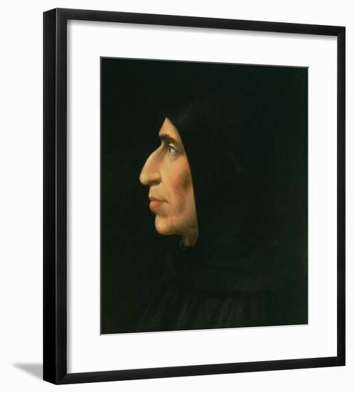 Portrait of Savonarola-Fra Bartolommeo-Framed Giclee Print