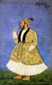 Portrait of Sayyid Shah Kallimullah Husayni, Ca 1675