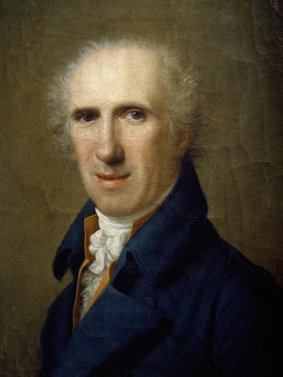 Portrait of Sculptor Antonio Canova-Gaspare Landi-Giclee Print
