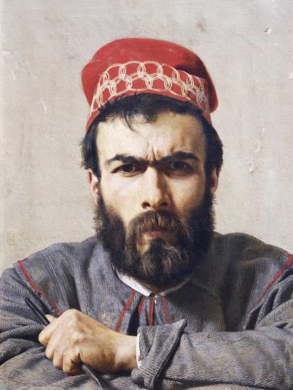 Portrait of Sculptor Emilio Zocchi--Giclee Print