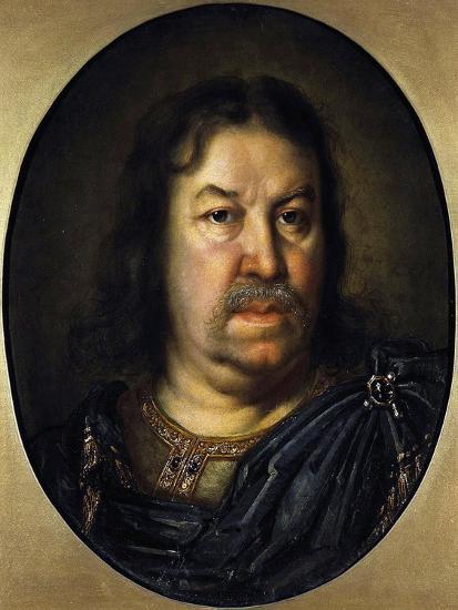 Portrait of Senator Prince Yakov Fyodorovich Dolgorukov, (1639-172), 1687-Charles Le Brun-Giclee Print