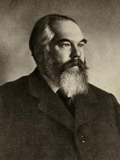 Portrait of Sergei Ivanovich Taneyev--Photographic Print