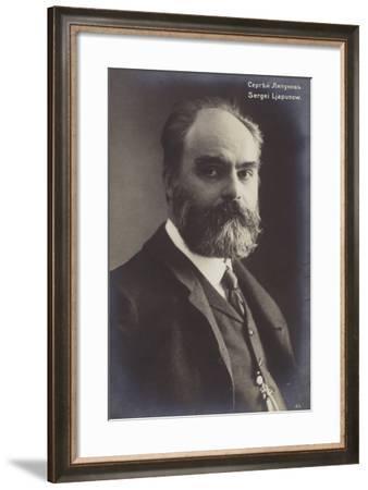 Portrait of Sergei Lyapunov--Framed Photographic Print