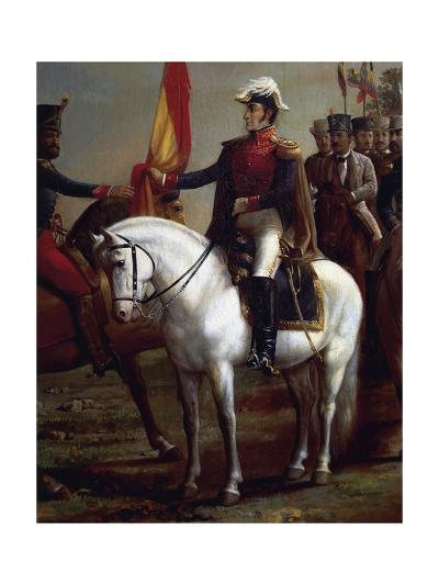 Portrait of Simon Bolivar--Giclee Print