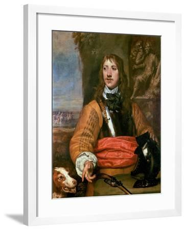 Portrait of Sir Charles Lucas-William Dobson-Framed Giclee Print