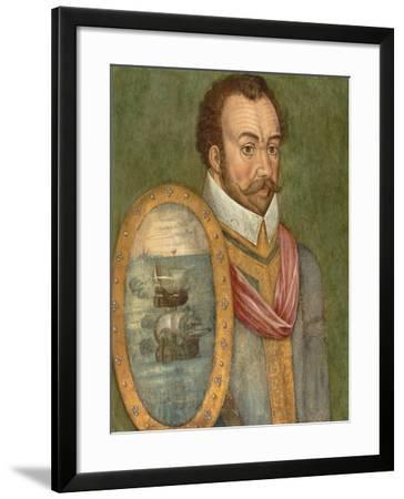 Portrait of Sir Francis Drake, C.1583--Framed Giclee Print