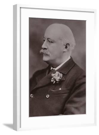 Portrait of Sir Hubert Parry--Framed Photographic Print