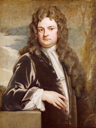Portrait of Sir Richard Steele-Godfrey Kneller-Giclee Print