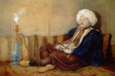Portrait of Sir Thomas Phillips in Turkish Dress, 1842-43-Richard Dadd-Giclee Print