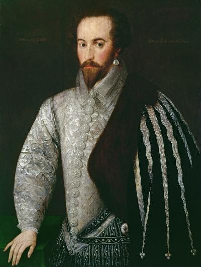 Portrait of Sir Walter Raleigh--Giclee Print