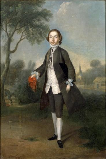 Portrait of Sir William Benett-Edward Penny-Giclee Print