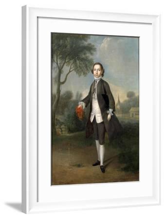 Portrait of Sir William Benett-Edward Penny-Framed Giclee Print