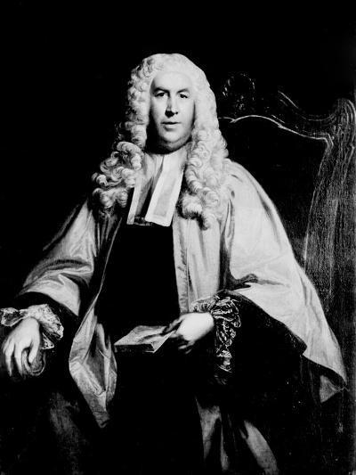 Portrait of Sir William Blackstone--Giclee Print