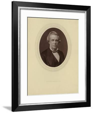 Portrait of Sir William Bowman--Framed Photographic Print