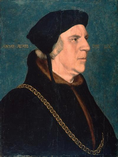 Portrait of Sir William Butts, 1543-Hans Holbein the Younger-Giclee Print