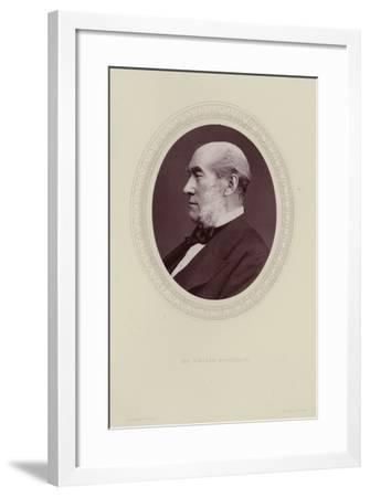 Portrait of Sir William Fergusson--Framed Photographic Print