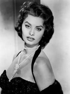Portrait of Sophia Loren, c.1957