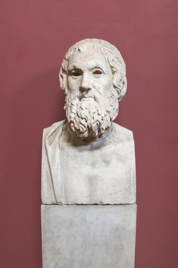 Portrait of Sophocles, Farnese Type, Vatican Museums, Rome, Italy--Giclee Print