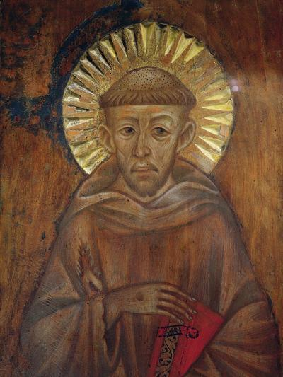 Portrait of St. Francis, C.1285 (Detail)-Giovanni Cimabue-Giclee Print