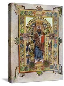Portrait of St Mark or St Luke, 800 Ad