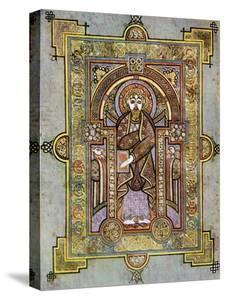 Portrait of St Matthew, 800 Ad