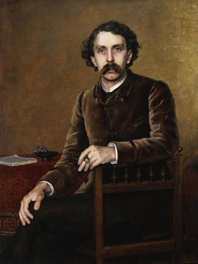 Portrait of Stephane Mallarme, the Poet-Francois Nardi-Giclee Print
