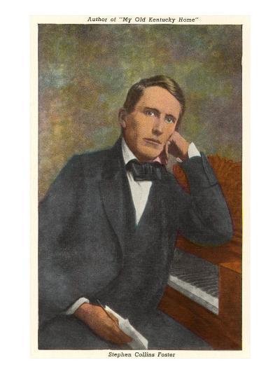 Portrait of Stephen Foster--Art Print