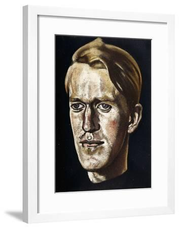 Portrait of T.E. Lawrence. Illustration from the Book 'Seven Pillars of Wisdom a Triumph', 1926--Framed Giclee Print