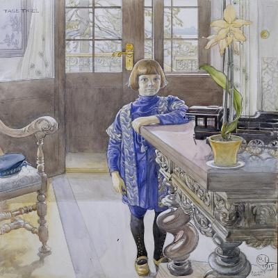 Portrait of Tage Thiel-Carl Larsson-Giclee Print